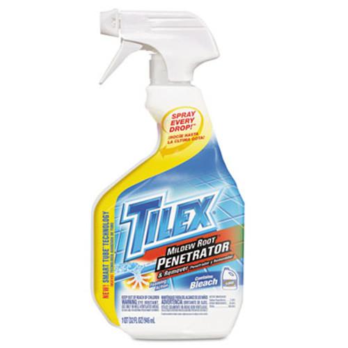 Tilex Mildew Root Penetrator & Remover, 32oz Smart Tube Spray, 9/Carton (CLO 00263)