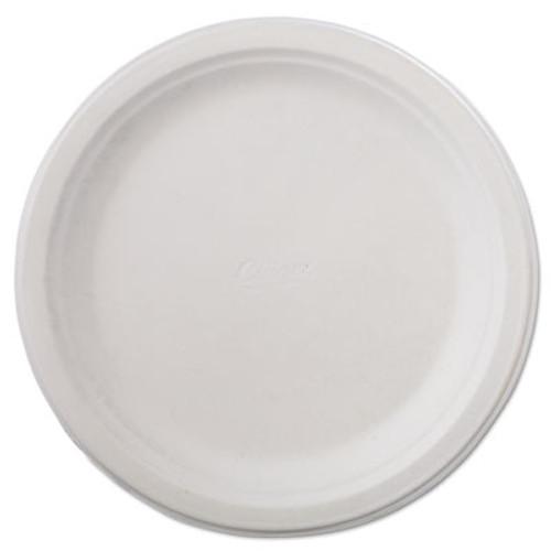 "Chinet Classic Paper Dinnerware, Plate, 9 3/4"" dia, White, 125/Pack, 4 Packs/Carton (HUH VAPOR)"