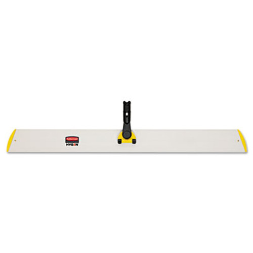 Rubbermaid Commercial HYGEN HYGEN Quick Connect Single-Sided Frame, 36 1/10w x 3 1/2d, Yellow (RCP Q580 YEL)
