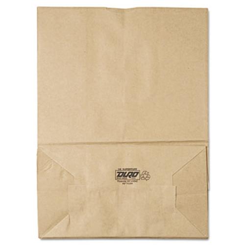 General 1/6 BBL Paper Grocery Bag, 75lb Kraft, Standard 12 x 7 x 17, 400 bags (BAG SK1675)