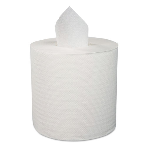 "Boardwalk Center-Pull Hand Towels, 2-Ply, Perforated, 7 7/8"" x 10"", 660/Roll, 6 Rolls/Ctn (BWK 6415)"