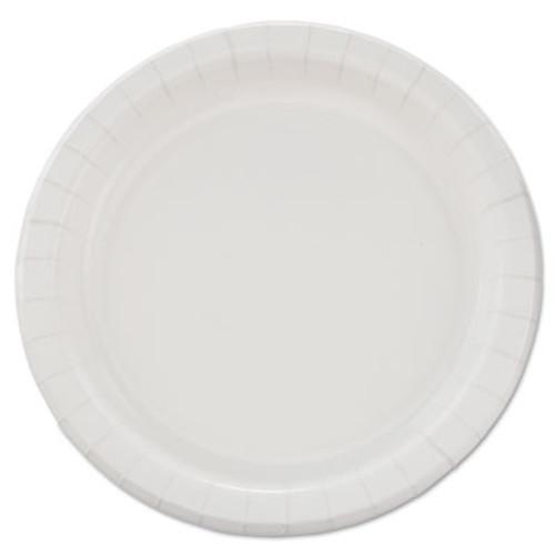 "SOLO Cup Company Bare Eco-Forward Clay-Coated Paper Dinnerware, Plate, 8 1/2"" dia, 500/Carton (SCC MP9B)"