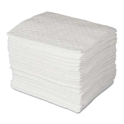 SPC MAXX Enhanced Oil-Only Sorbent Pads, .3gal, 15w x 19l, White, 100/Bundle (SBD SPC300)