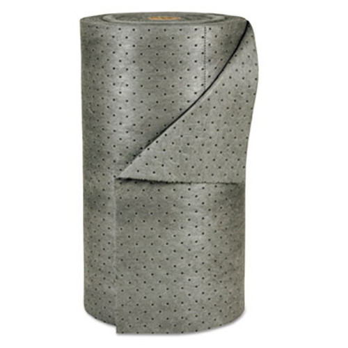 "SPC MRO Plus Medium Sorbent-Pad Roll, 38gal, 30"" x 150ft, Gray (SBD MRO350-DP)"