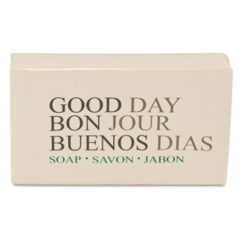 Good Day Amenity Bar Soap, Pleasant Scent, 1.5 Width, 500/Carton (GTP 390150)