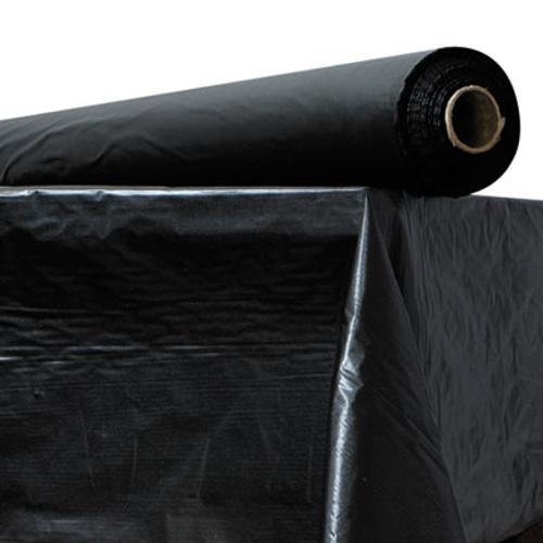 """Atlantis Plastics Plastic Table Cover, 40"""" x 300 ft Roll, Black (ATL 2TCBK300)"""