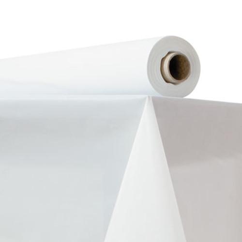 "Atlantis Plastics Plastic Table Cover, 40"" x 150 ft Roll, White (ATL 2TCW150)"