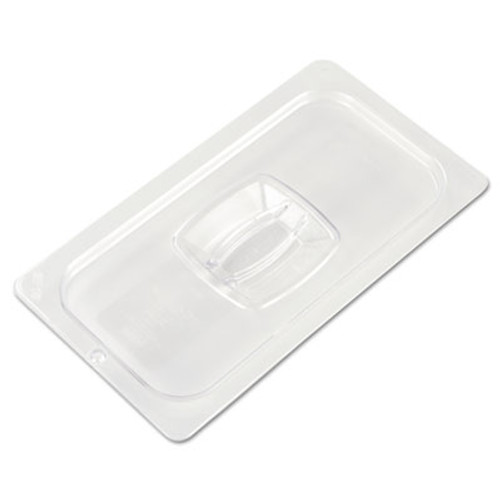 Rubbermaid Commercial Cold Food Pan Covers, 6 7/8w x 12 4/5d, Clear (RCP 121P-23 CLE)