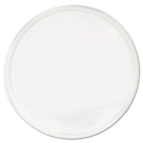 Fabri-Kal PolyPro Microwavable Deli Container Lids, Clear, 500/Carton (FAB PPLID)
