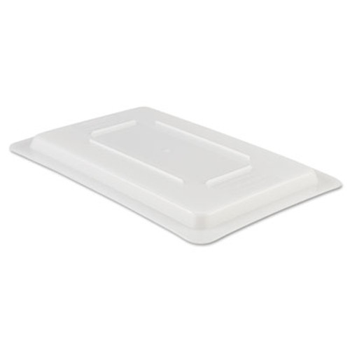 Rubbermaid Commercial Food/Tote Box Lids, 12w x 18d, White (RCP 3510 WHI)