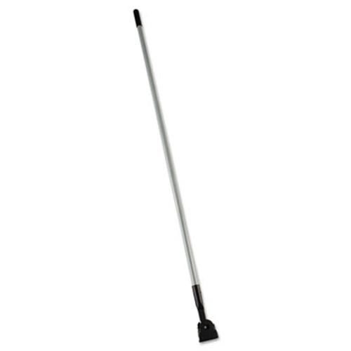 "Rubbermaid Commercial Snap-On Fiberglass Dust Mop Handle, 60"", Gray/Black (RCP M146)"
