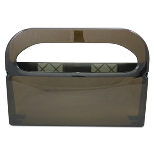 Hospital Specialty Co. Health Gards Half-Fold Toilet Seat Cover Dispenser, Smoke, 16wx3-1/4dx11-1/2h (HOS HG-1-2 SMO)