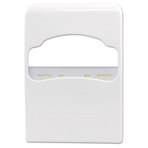 Hospital Specialty Co. Health Gards Quarter-Fold Toilet Seat Cover Dispenser, White, Plastic (HOS HG-2)