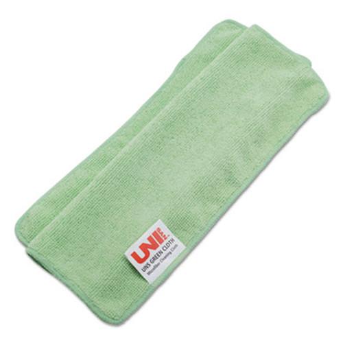 Boardwalk Lightweight Microfiber Cleaning Cloths, Green,16 x 16, 24/Pack (UNS 16GREENCLOTH)