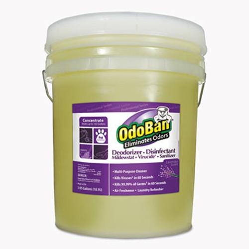 OdoBan RTU Odor Eliminator, Lavender Scent, 5gal Pail (ODO9111625G)