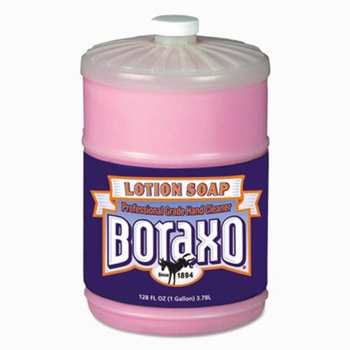Boraxo Liquid Lotion Soap, Pink, Floral Fragrance, 1gal Bottle, 4/Carton (DIA 02709)