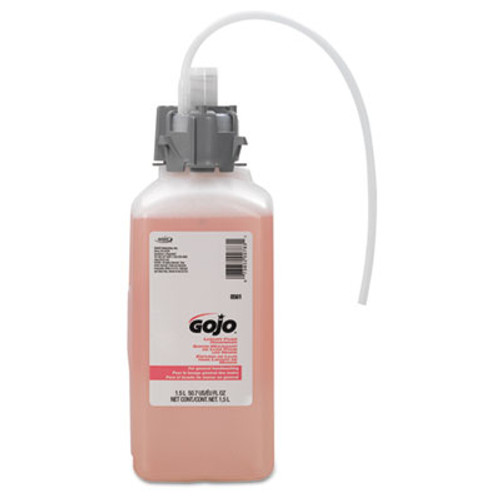GOJO CX & CXI Luxury Foam Hand Wash, Cranberry Liquid, 1500mL Refill (GOJ 8561-02)