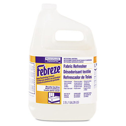 Febreze Professional Fabric Refresher Deep Penetrating, Fresh Clean, 1 gal, 3/Carton (PGC 33032)