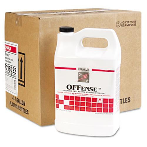 Franklin Cleaning Technology OFFense Floor Stripper, 1gal Bottle, 4/Carton (FRK F218022)