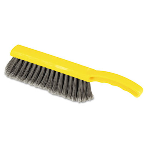 "Rubbermaid Commercial Countertop Brush, Silver, 12 1/2"" Brush (RCP 6342 SIL)"