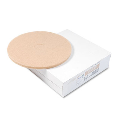 Boardwalk Ultra High-Speed Floor Pads, Ultra Champagne, 20-Inch Diameter, 5/Carton (PAD 4020 ULT)