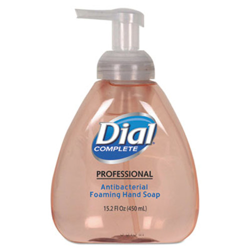 Dial Professional Antibacterial Foaming Hand Wash, Original Scent, 15.2oz, 4/Carton (DIA 98606)
