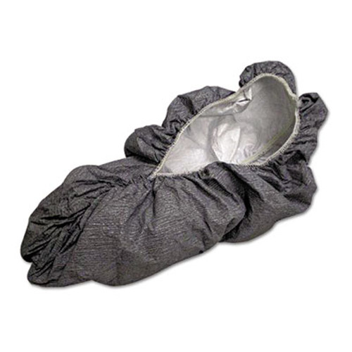 DuPont Tyvek Shoe Covers, Gray, One Size Fits All, 200/Carton (DUP FC450S)