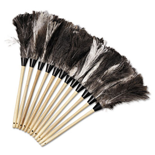 """Boardwalk Professional Ostrich Feather Duster, 13"""" Handle (UNS 23FD)"""
