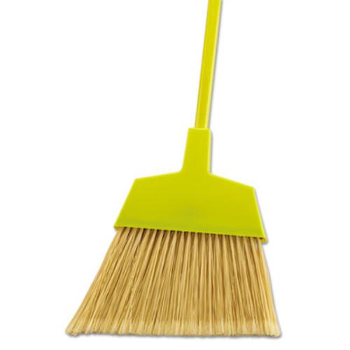 """Boardwalk Poly Bristle Angler Broom, 49"""" Handle, Black, 12/Carton (UNS 932M)"""