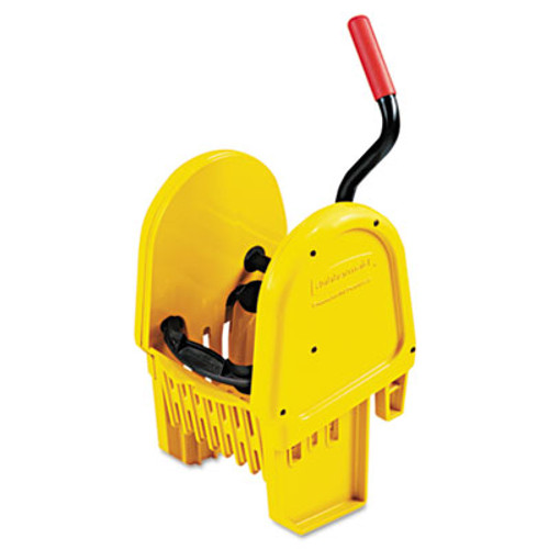 Rubbermaid Commercial WaveBrake Down-Press Wringer, Yellow (RCP 7575-88 YEL)