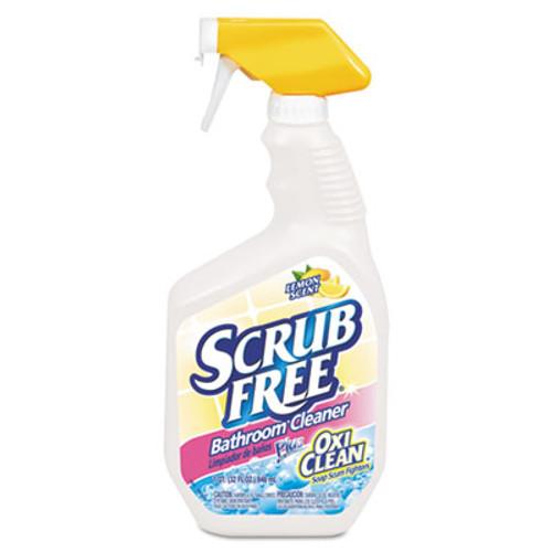Arm & Hammer Scrub Free Soap Scum Remover, Lemon, 32oz Spray Bottle, 8/Carton (CDC 33200-35255)