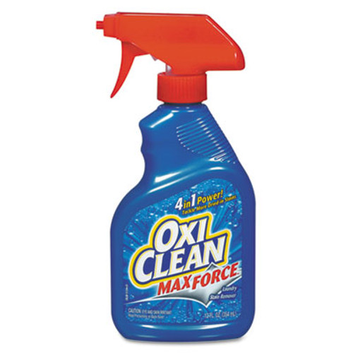 Arm & Hammer OxiClean Max-Force Stain Remover, 12oz Bottle, 12/Carton (CDC 57037-51244)