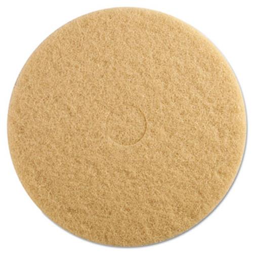 Boardwalk Ultra High-Speed Floor Pads, 19-Inch Diameter, Champagne, 5/Carton (PAD 4019 ULT)