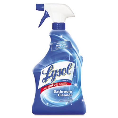LYSOL Brand Disinfectant Bathroom Cleaners, Liquid, 32oz Bottle (REC 02699)