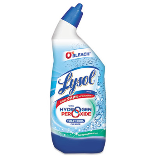 LYSOL Brand Power & Free Toilet Bowl Cleaner, 24oz Angle-Necked Bottle (RAC85020)