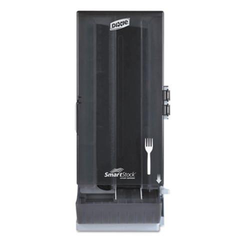"Dixie SmartStock Mediumweight Polystyrene Dispenser, Fork, 10"" x 8 25/32"" x 24 3/4"" (DIX SSFD120)"