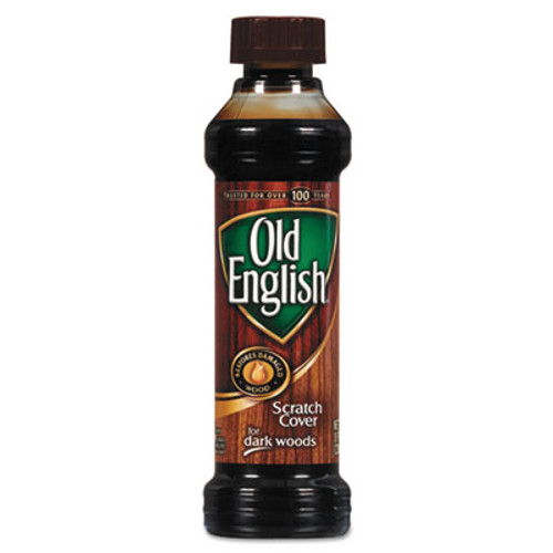 OLD ENGLISH Furniture Scratch Cover, For Dark Woods, 8oz Bottle (REC 75144)