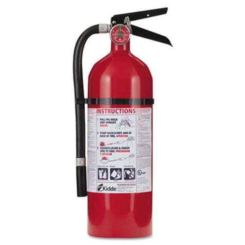 Kidde Pro 210 Fire Extinguisher, 4lb, 2-A, 10-B:C (KDD 21005779)
