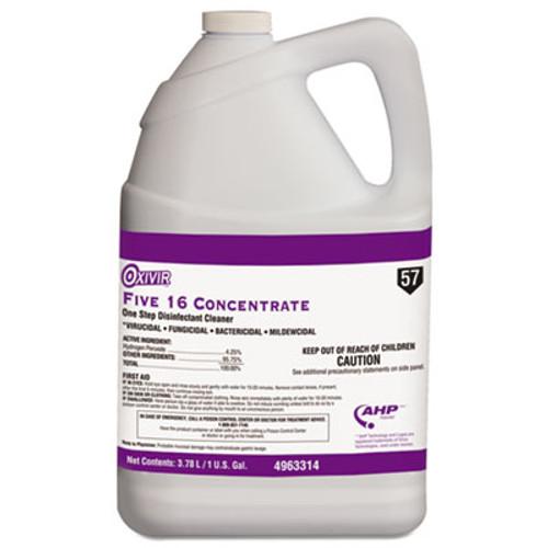 Oxivir Five 16 One-Step Disinfectant Cleaner, 1gal Bottle, 4/Carton (DVO 4963314)