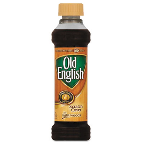 OLD ENGLISH Furniture Scratch Cover, For Light Wood, 8oz Bottle (REC 75462)