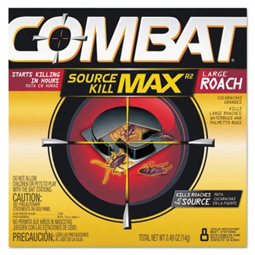 Combat Roach Bait Insecticide, 0.49 oz Bait, 8/Pack, 12 Pack/Carton (DIA 51913)