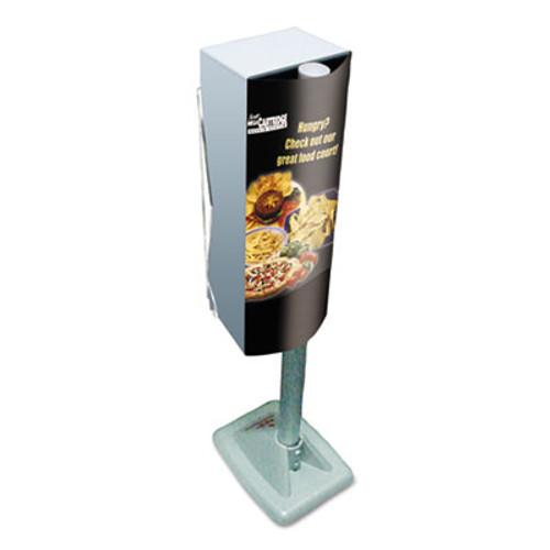 Scott Mega Cartridge Napkin System Dispenser, 8 3/4 x 6 3/8 x 23 1/4, Gray (KCC 09023)