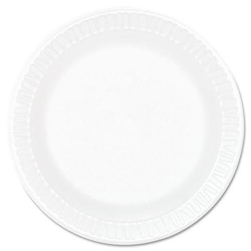 """Dart Concorde Foam Plate, 6"""" dia, White, 1000/Carton (DCC 6PWCR)"""