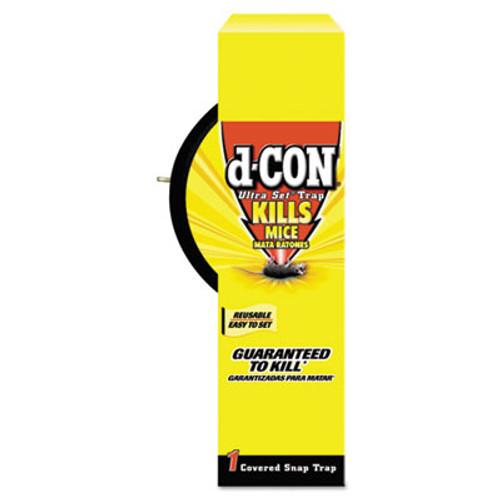 d-CON Ultra Set Covered Snap Trap, Plastic (REC 00027)
