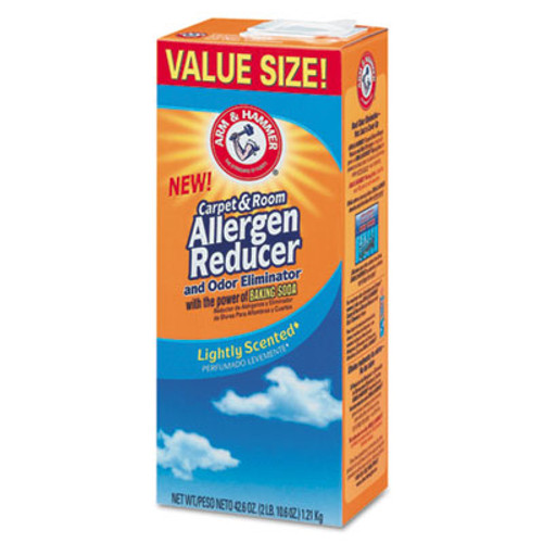 Arm & Hammer Carpet & Room Allergen Reducer & Odor Eliminator, 42.6oz Shaker Box (CDC3320084113)