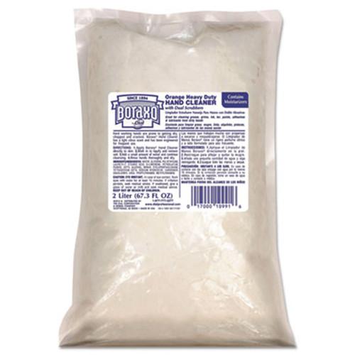 Boraxo Orange Heavy Duty Hand Cleaner, 2 Liter Refill Bag (DIA10991)