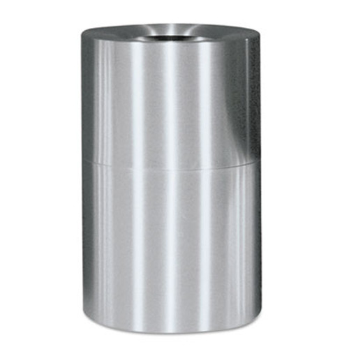Rubbermaid Commercial Atrium Extra Large Capacity Aluminum Container, Open Top, 62 Gal, Satin Finish (RCP AOT62SAPL)