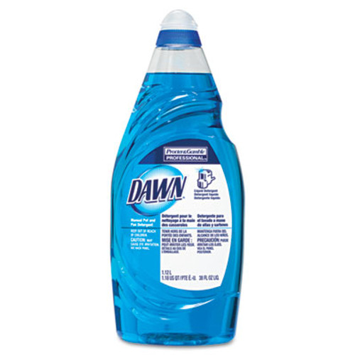 Dawn Professional Manual Pot & Pan Dish Detergent, 38 oz Bottle, 8/Carton (PGC45112CT)