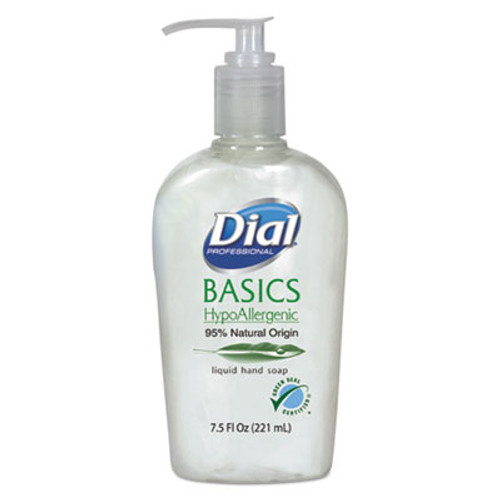 Dial Professional Basics Liquid Hand Soap, 7.5 oz, Rosemary & Mint (DIA06028)