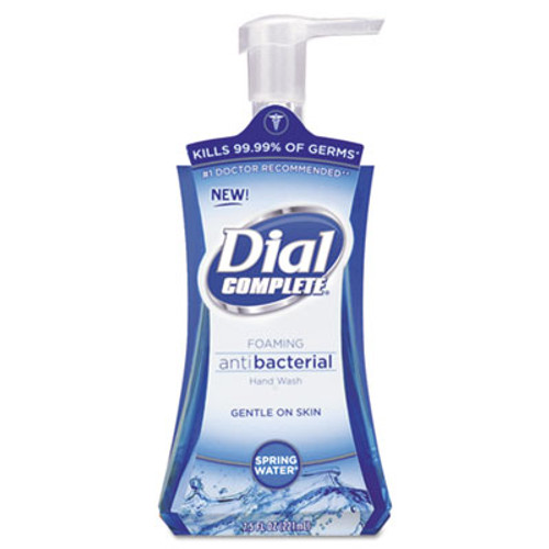 Dial Antibacterial Foaming Hand Wash, Spring Water, 7.5oz, 8/Carton (DIA05401CT)